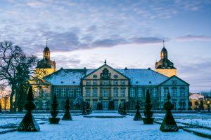schloss hundisburg haldensleben im winter